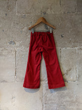 Load image into Gallery viewer, Fabulous Red Flared Trousers - 4 Years