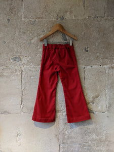 Fabulous Red Flared Trousers - 4 Years
