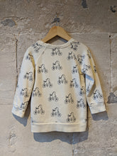 Load image into Gallery viewer, Tobias and the Bear Organic Chopper Sweatshirt - 3 Years