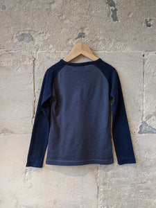 Lovely Raglan Long Sleeved Slub - 3 Years