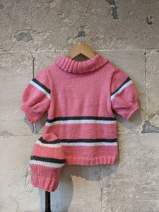Amazing French Vintage Hand Knit - 5 Years