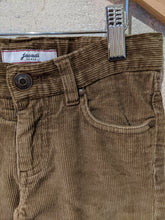 Load image into Gallery viewer, Jacadi Classic Brown Corduroy Trousers - 5 Years