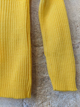 Load image into Gallery viewer, Sunshine Yellow Vintage Jumper - 4 Years