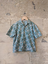 Load image into Gallery viewer, French Retro Print Cool Cotton Shirt - 8 Years