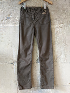 Soft Brown Slim Fit French Trousers 7 Years