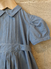 Load image into Gallery viewer, French Antique 30s Arlequin Checkered Romper - 3 Months