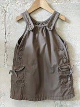 Load image into Gallery viewer, Petit Bateau Pinafore Preloved Dress 2 years