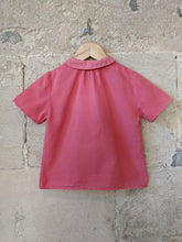 Load image into Gallery viewer, Light Cotton French Vintage Blouse - 4 Years