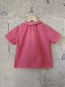 Light Cotton French Vintage Blouse - 4 Years