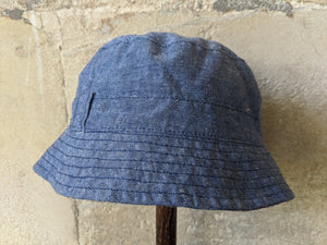 Lovely Bout'Chou Chambray Summer Hat 12 Months