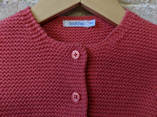 Load image into Gallery viewer, Adorable Bout'Chou Garter Stitch Cardigan - 6 Months