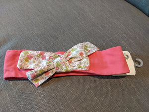 Pretty French Hair Band Obaibi Floral Bow NEW
