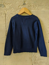 Load image into Gallery viewer, Lightweight Cotton Blue Preloved Kids Jumper 3-4 Years
