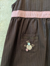 Load image into Gallery viewer, Preloved baby Dress Cute pockets Sergent Major Designer Brand 12-18 Months