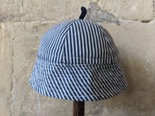 Load image into Gallery viewer, Fabulous French Antique Cotton Summer Sailor Hat 3 Months