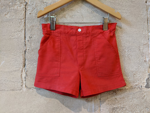 Red Retro Cool Kids Shorts