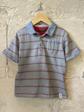 Load image into Gallery viewer, Ted-Baker_Preloved_sale_Polo_shirt_Striped 4-5 Years