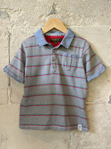 Ted-Baker_Preloved_sale_Polo_shirt_Striped 4-5 Years