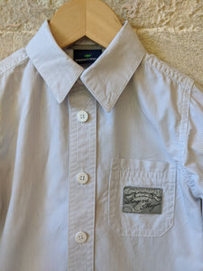 Sergent Major Classic Grey Striped Shirt 2 Years