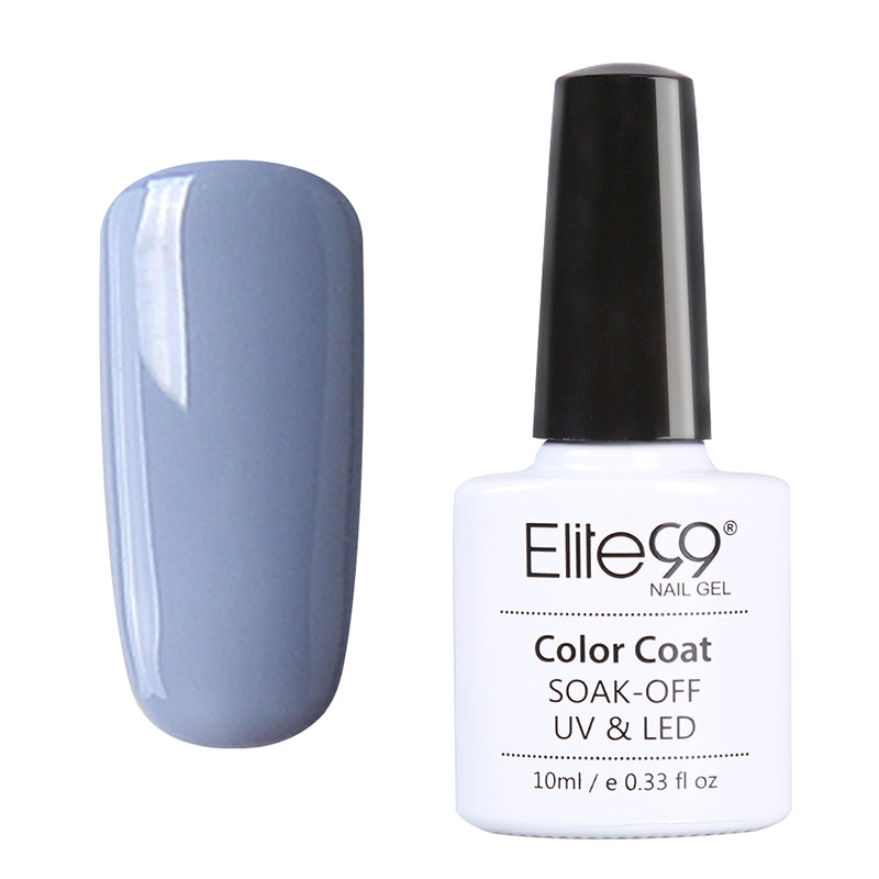 Elite99 10ml 12 Color Nail Polish UV Lamp Gelpolish