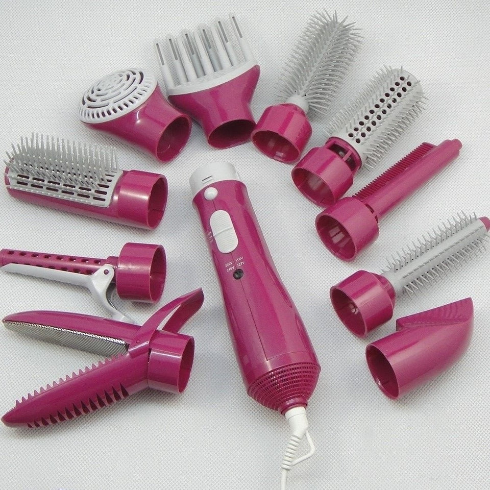 Multi-functional hair dryer set 10