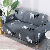 1 2 3 4 Seater Floral Stretch Fit Sofa Covers Chair Couch Slipcover Protector UK