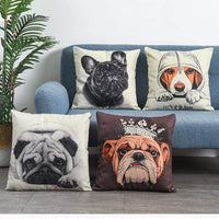 Boryard Decorative Throw Pillow Covers for Bed 18x18 Square Couch Pillows Cushion Covers Farmhouse Pillows for Couch Set of 4