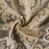 MOTINI Velvet Embroidered Throw Pillow Covers Champagne Gold Thread Boho Luxury Unique Textured Square Decorative Cushion Covers Pillowcase for Sofa Couch Bed Chair-2 Pack
