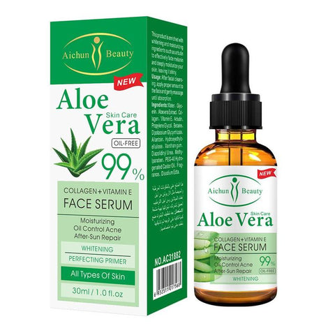 Natural Aloe Vera Gel Pure Hyaluronic