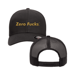 Zero Fucks Trucker Snap Back