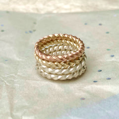 stack of twist rings