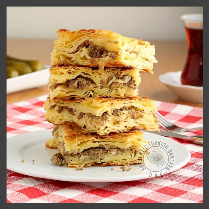 Mince Meat Borek - Authentic Turkish Baklava