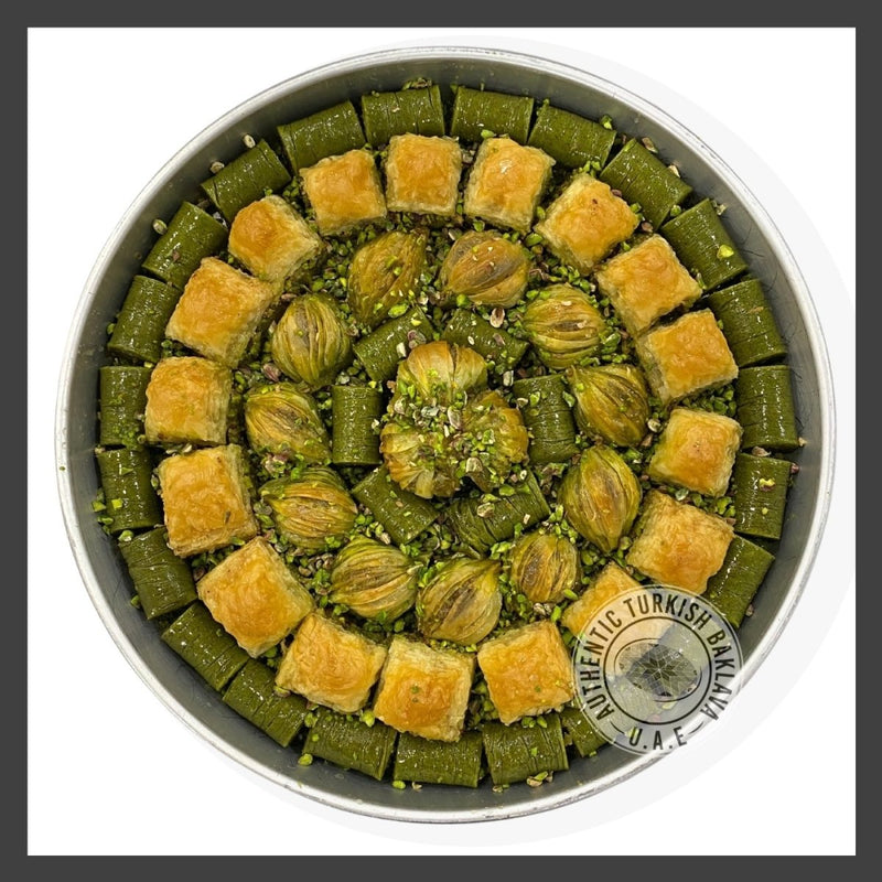 Sultan Baklava Mix - in 2KG Tray - Authentic Turkish Baklava