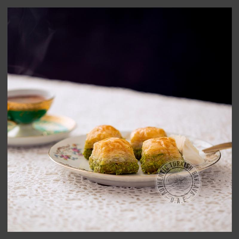 Turkish Baklava with Pistachio - Authentic Turkish Baklava