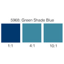 Rosco Supersaturated Scenic Paint - 5968 Green Shade Blue 1L