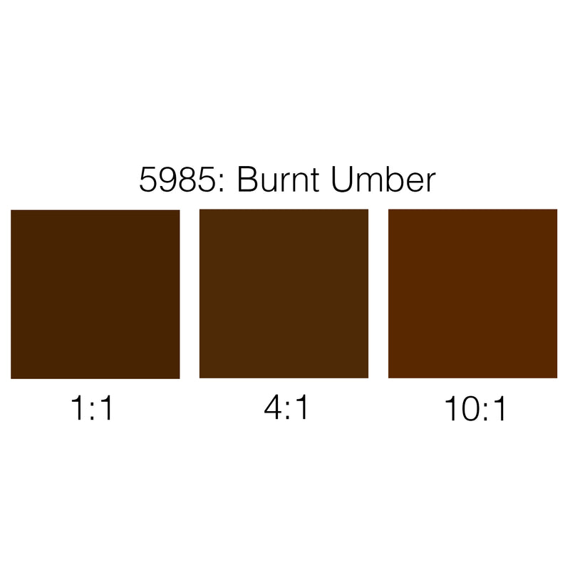 Rosco Supersaturated Scenic Paint - 5985 Burnt Umber 1L