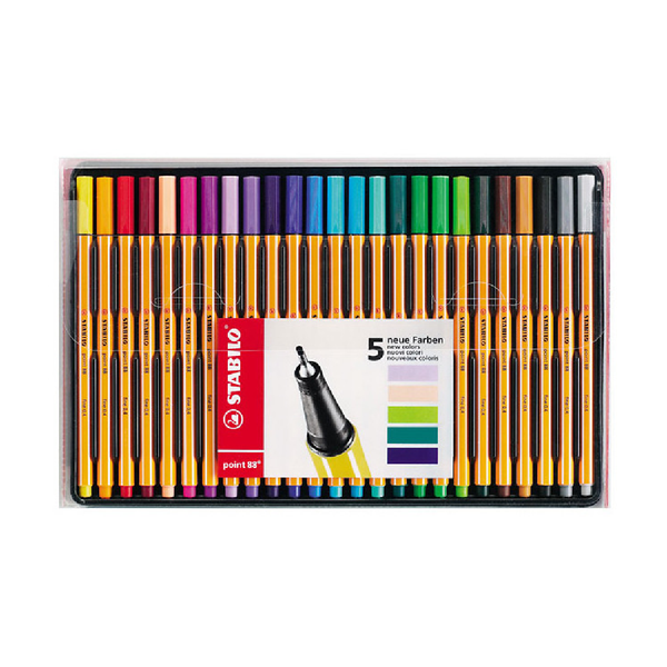 Stabilo Fineliner Set of 25 Pens