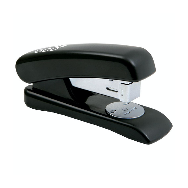 Rapesco Eco Recycled Half Strip Stapler, For 24/6 & 26/6 Staples, Black