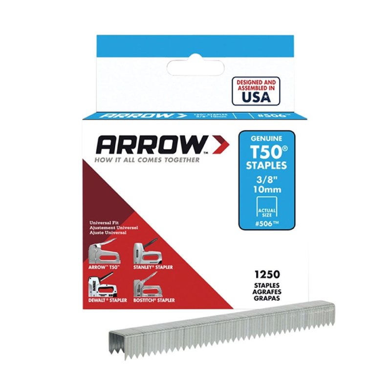 Arrow T50 Staples - 10mm