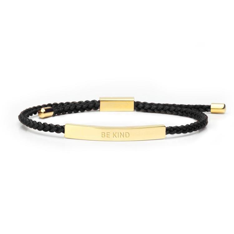 Be Kind - 18K Gold Bracelet