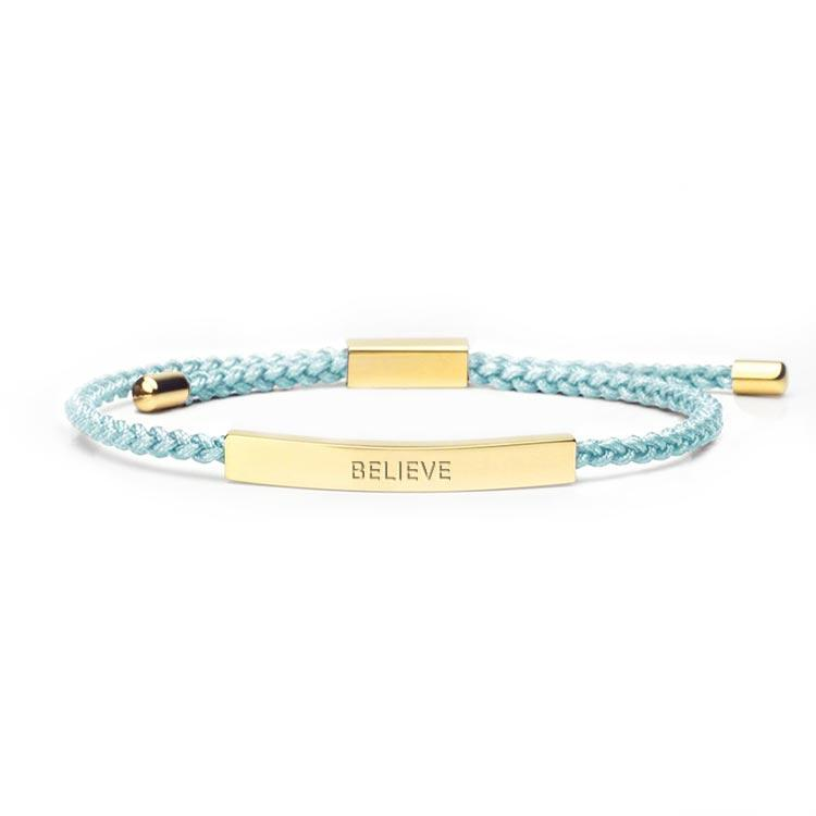 Believe - 18K Gold Bracelet Bracelet Selfawear Royal Blue