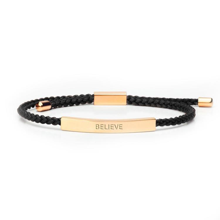 Believe - 18K Rose Gold Bracelet
