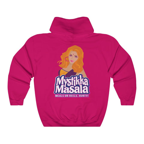 MYSTIKKA MASALA CARTOON Unisex Heavy Blend™ Hooded Sweatshirt