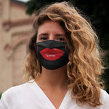 DRAG QUEEN LIPS Snug-Fit Polyester Face Mask