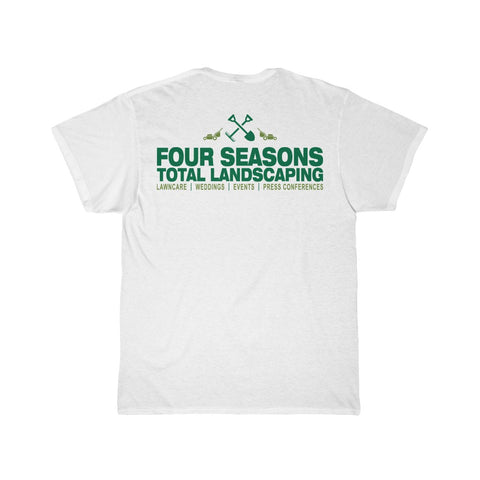 """FOUR SEASONS TOTAL LANDSCAPING"" PARODY Men's Short Sleeve Tee"