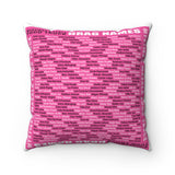 """DRAG QUEEN NAMES"" Spun Polyester Square Pillow"