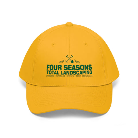 """FOUR SEASONS TOTAL LANDSCAPING"" PARODY Unisex Twill Hat"