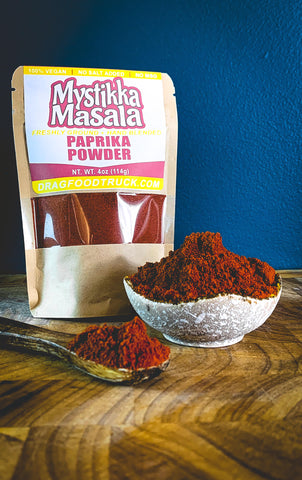 PAPRIKA POWDER (GROUND) - 4oz - Resealable Bag