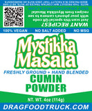 CUMIN POWDER (GROUND) - 4oz - Resealable Bag