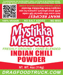 INDIAN CHILI POWDER (GROUND) - 4oz - Resealable Bag